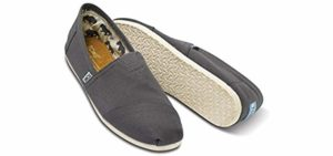 Toms Men's Seasonal Classic - Breathable Canvas Summer Shoes