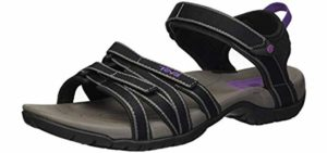 Teva Women's Tirra - Sports Sandal for Flat Feet