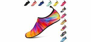 VIFUUR Women's Watersports - Water Shoes for Showering