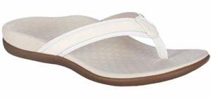 Vionic Women's Tide II - Comfortable High Arch Flip Flop Sandals