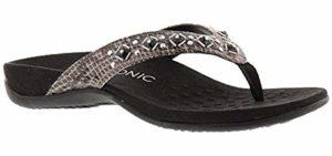 Vionic Women's Floriana - Flip Flops for Tailors Bunions