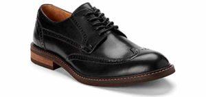 Vionic Men's Bowery Bruno - Orthopedic Dress Shoes for Flat Feet