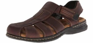 Dr. Scholls Men's Gaston - Casual Dress Sandals for Plantar Fasciitis