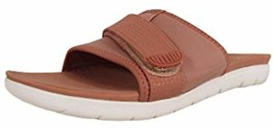 FitFlop Women's Neoflex - Slide on Flat Feet Sandals
