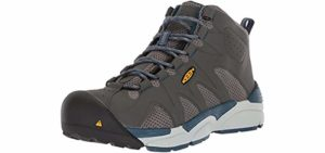 Keen Utilitry Men's San Antonia - Industrail work Boots for Overweight Men and Women