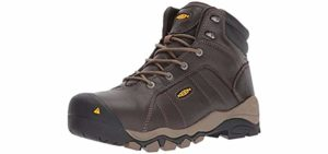 Keen Utility Women's Santa Fe - Industrail work Boots for Overweight Men and Women
