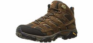 Merrell Men's Moab 2 - Hiking Boots for Flat Feet