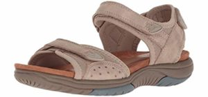 Rockport Women's Franklin - Comfortable High Arch Waking Sandals
