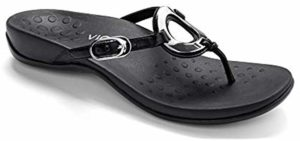 Vionic Women's Karina - Toe Post Sandals for Supination
