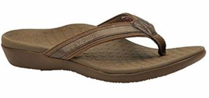 Orthaheel Vionic Women's Tide - High Arch Support Flip Flop