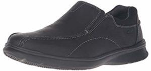 Clarks Men's Cotrell - Slip-On Traveler Walking Shoes