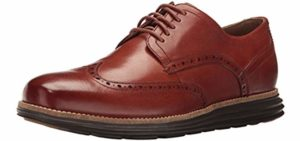 Cole Haan Men's Grand Shortwing - Athletic Sole Oxford Dress Shoe