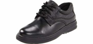 Hush Puppies Men's Glen Oxford - Elderly Swollen Feet Dress Shoes