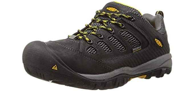 Keen Men's Tucson - Soft Toe Waterproof Work Shoe