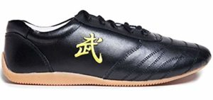 SNLMY Men's Leather - Tai Chi Athletic Shoes