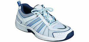 Orthofeet Women's Tahoe - Heel Spur Walking Sneakers