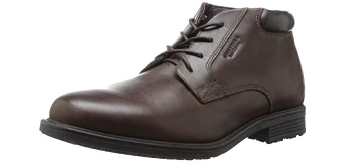 Rockport Men's Essential Details - Waterproof Dress Walking Shoe