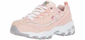 Skechers Women's Bright Blossoms - Memory Foam Shoes for Urban Walking