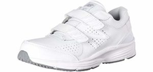 New Balance Women's WW411V2 - Breathable Leather Walking Shoes