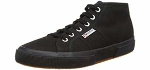 Superga Men's Cotu - High Top Solid Color Canvas Sneakers