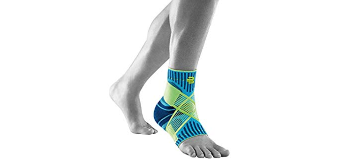 Bauerfeind Unisex Ankle Support - Secure Fit Tendon Movement
