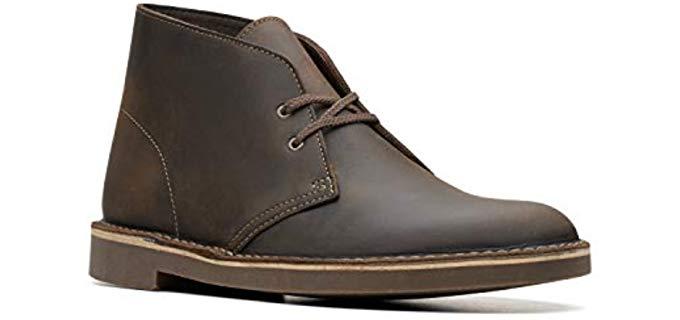 Clarks Men's Bushacre 2 - Desert Chukka Boot