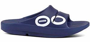 OOFOS Men's OOahh - Heel Spurs Therapeutic Slide Sandal