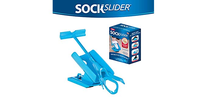 Allstar Innovations Unisex SockSlider - Sock Aid for Overweight Persons
