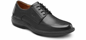 Dr. Comfort Men's Classic - Dress Shoes for Metatarsalgia