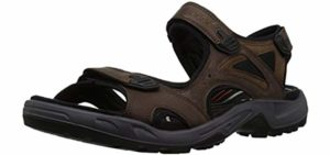 ECCO Men's Yucatan - Bunion on Flat Feet Sandal