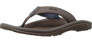 Olukai Men's Ohana - Flat Feet Sandal