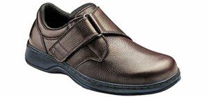 Orthofeet Men's Broadway - Tarsal Tunnel Syndrome Dress Shoe