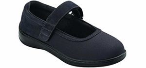 Orthofeet Women's Springfield - Charcot Foot Dress Shoe