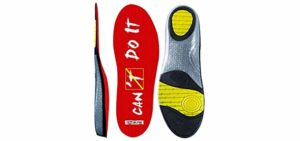 Wernies Women's Athletic - Arch Support Flat Feet Insoles