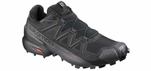 Salomon Men's Speed Cross 5 - Trail Running Shoes for Flat Feet