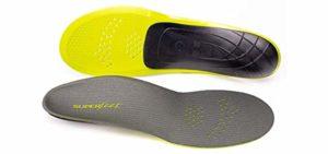 Superfeet Men's Carbon - Stabilizing Flat Feet Insole