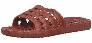 Tecs Women's PVC - Slide Shower Sandal