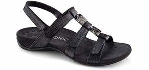 Vionic Women's Amber - Dress Sandal for Overpronation