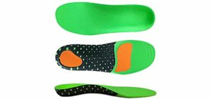 VoMii Men's Arch Support - Flat Feet Insole