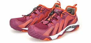 Clorts Women's Wet Traction - Shoe for Hiking