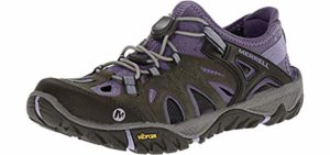 Merrell Women's All Out Blaze Sieve - Hiking Water Shoe