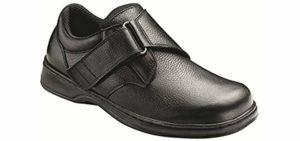 Orthofeet Men's Broadway - Sesamoiditis Dress Shoe