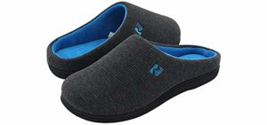 RockDove Men's Original - Memory Foam Slip On Slippers