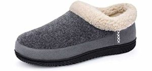 UltraIdeas Men's Memory Foam - Memory Foam Slippers