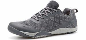 Whitin Men's Barefoot - Shoe for Minimalist Trail Running