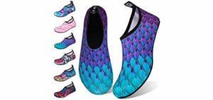 WateLves Men's Aqua - Shoe for Walking on Sand Dunes