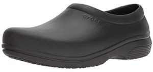 Crocs Men's On The Clock - Laboratory Work Clog Shoe