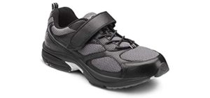 Dr. Comfort Men's Endurance - Athletic Shoe for Feet That Burn