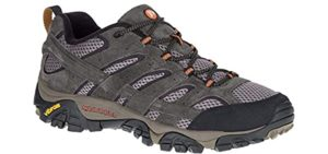 Merrell Men's Moab Vent 2 - Trail Walking and Running Shoe for High Arches