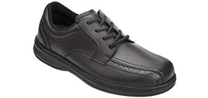 Orthofeet Men's Gramercy - Hip Pain Dress Shoes